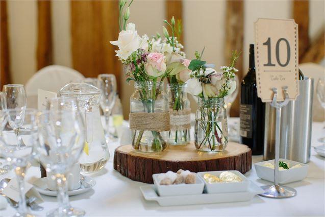 Jam Jars Wisteriaavenuecouk Fascinating Wedding Table Decorations Jam Jars